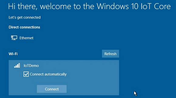 Windows 10 loT Core
