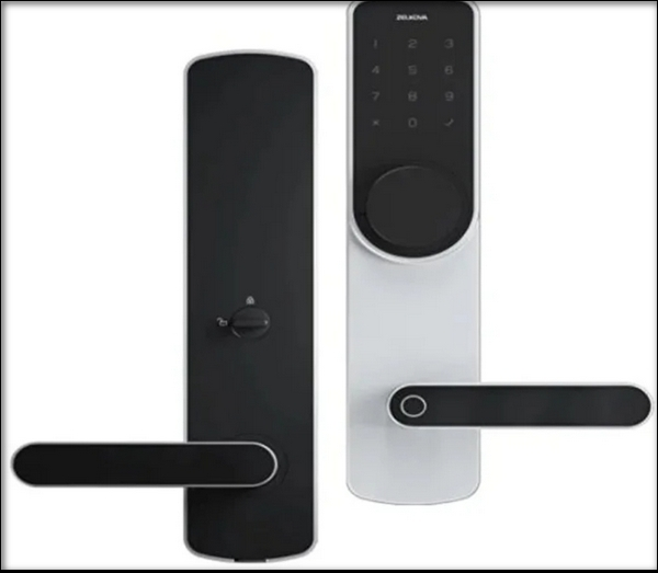 Zelkova Beech Intelligent Door Lock